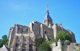 Abbaye du Mont-Saint-Michel, en Normandie