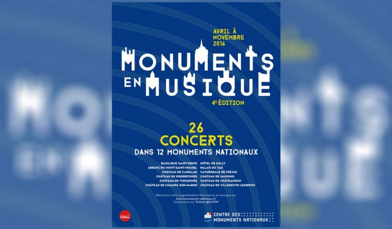 Monuments en Musique 2016