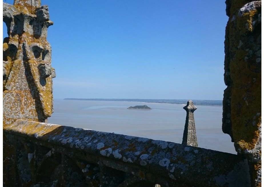 Vue Mont Saint-Michel